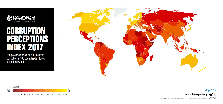 grenada s ranking in transparency international s